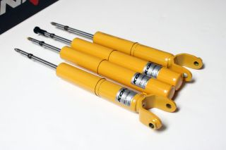 Koni Front Rear Yellow Sport Shocks Struts Volvo C70 S70 V70 850