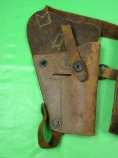 WW2 Enger Kress US Colt Leather Shoulder Holster