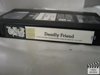 Friend VHS Matthew Laborteaux Kristy Swanson 085391160137
