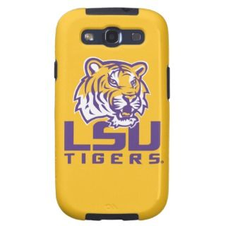 Tiger Head   LSU Tigers Galaxy SIII Covers