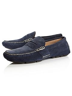 Polo Ralph Lauren Telly suede penny loafers Navy
