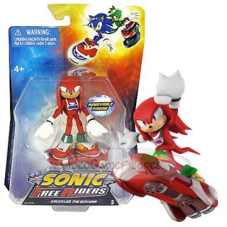 Knuckles is a power ty pe character i n Sonic Free Riders. Knuckles