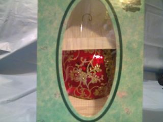 Krebs Santa on Silk Father Christmas 1992 Ornament