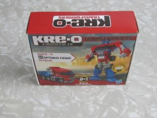 Kreo Transformers Basic Optimus (2011)   New   Toys & Games