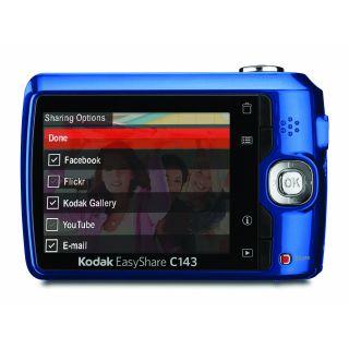 Kodak EasyShare C143 Digital Camera Blue