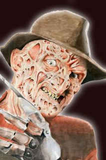 Freddy Krueger Lifesize Animated Halloween Prop New
