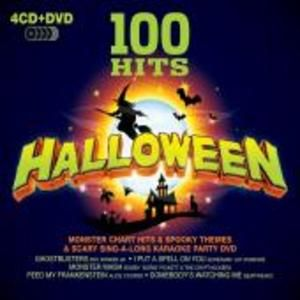 100 Halloween Party Songs 4 CD 1 DVD Set Brand New