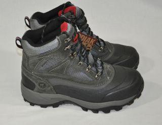 New Kodiak Mens Boulder Winter Boots Waterproof Thermolite Gray Black