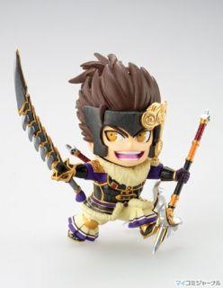 Koei Sengoku Muso Samurai Warriors 3 Mini Figure Vol3 Maeda Toshii