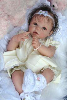 Reborn Doll Baby Girl Chloe Linda Murrys Krista