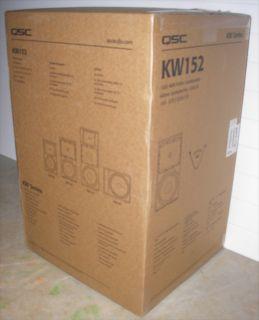 QSC KW 152 1000 Watt Powered Speaker New in Box KW152
