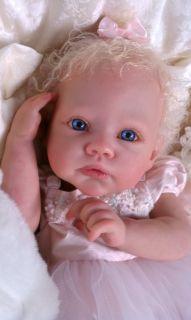 Queens Crib Nursery Gorgeous Reborn Baby Rainer by Romie Strydom Baby