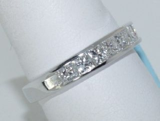 Kwiat 18 KT White Gold and Diamond Ring Band
