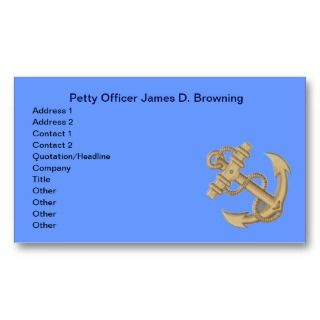 Marine yachting business card business card for Marine corps business cards