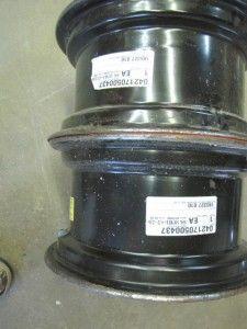 Kubota Tractor Wheels Rims 14 x 7 for Turf Tires or R4 Nice Set 6 Lug