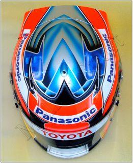 Timo Glock Formula F1 2009 Replica Helmet Scale 1 1 New