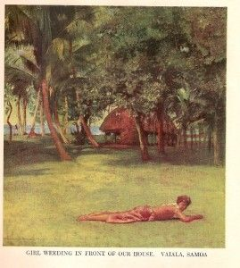 PACIFIC HAWAII SAMOA TAHITI FIJI WITH 32 COLOR PRINTS BY JOHN LAFARGE