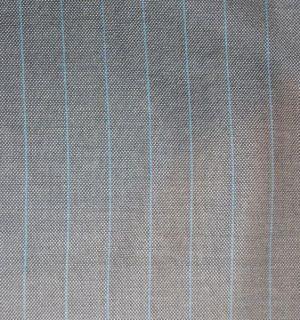 Lafayette 148 Silk Wool Pinstripe Jacket Blazer P4