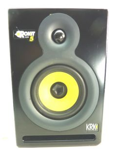 KRK Systems Rokit Powered 5 Studio Speaker Monitor w Power Cord Sound