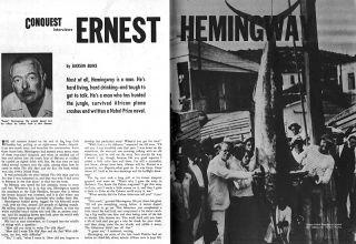 Conquest Ernest Hemingway 1st Issue Mountain Lion Chorus Girls Calgary