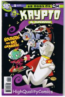 Krypto 6 The Superdog Cartoon Network 2006 NM M