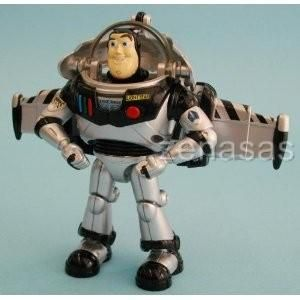 Transformer Disney Label Buzz Lightyear Space SHIP Monochrome Takara