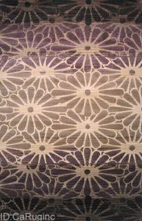 5x8 Area Rug Contemporary Modern Design Floral Carpet Actual 5x73