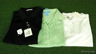 New w Tags Fairway Greene Polo Golf Shirt Ladies Sizes s M L XL MSRP $