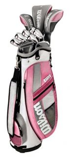 Wilson Hope Platinum Womens Ladies Golf Club Set w Bag