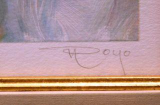 Royo Adornado La Mesa Hand Signed Fine Art Serigraph Paper SUBMIT Best