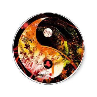 Yin Yang Symphony Stickers