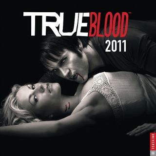 True Blood TV Series 2011 Vampire Wall Calendar SEALED