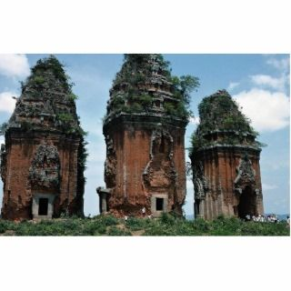 The Cham Towers at Binh Dinh District, Qui Nhon, V Photo Sculpture