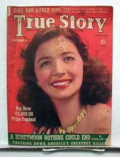 Oct 1939 True Story Magazine Fiction Ads Art