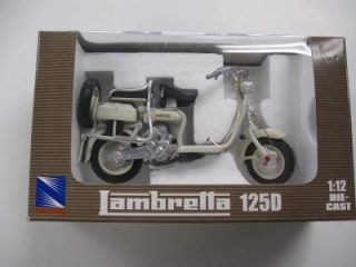 Lambretta 125D Scooter Model Toy 1 12 Scale RARE