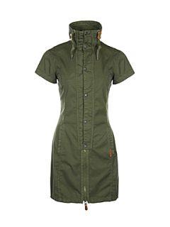 Bench Women`s hipsta woven shirt dress Khaki