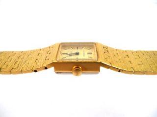 Vintage La Marque Gold Plated Ladies Watch 17 Jewels