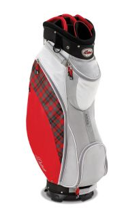 New Datrek 2012 D Light Ladies Golf Cart Bag Red Plaid