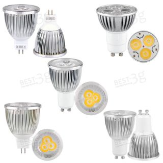 MR16 Dimmable LED Pure Warm White Spot Down Lights Bulbs Lamps