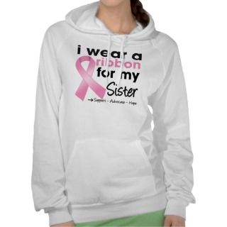 Breast Cancer Awareness Hope T-Shirts & Hoodies by Sarah Eldred