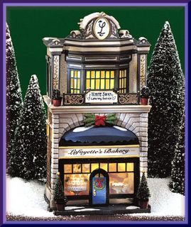 Lafayettes Bakery NEW Department Dept. 56 Christmas In The City