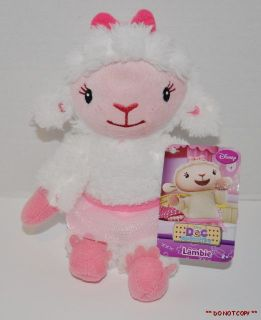 Junior Doc McStuffins Lambie Lamb 8 Plush Soft Toy Bean Bag
