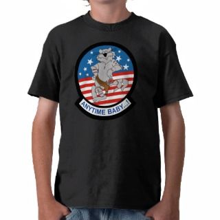 USAF F14 Anytime Baby Shirts