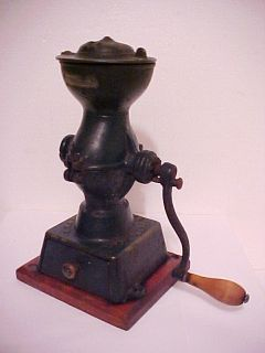Landers Frary Clark 11 Cast Iron Coffee Grinder Mill