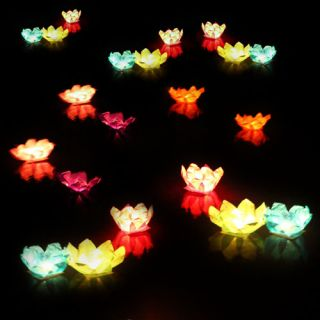 Chinese Lanterns Wishing Water Lantern Light Paper 8 Colors