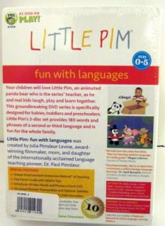 Little Pim Fun with Languages Mandarin Chinese Vol 2 Boxed Set Disc 4
