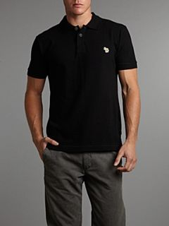 Paul Smith Jeans Regular zebra polo shirt Black