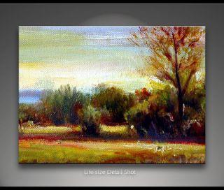 Two Friends Tonal Landscape Oil Painting Chris Dean