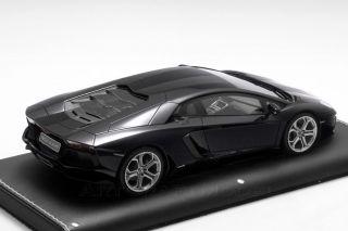 Lamborghini Aventador 2011 Pegaso Black Le 20 Mr Models 1 18