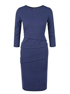 Helen McAlinden Ruche dress Sapphire